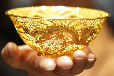 Thị trường vàng tuần qua đi ngược với thế giới