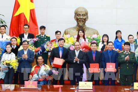 Thủ tướng: Lan tỏa những giá trị tốt đẹp của các gương mặt trẻ Việt Nam tiêu biểu