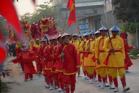 Linh đình lễ hội Thành Bản Phủ tại Điện Biên