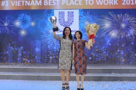 """Unilever được bình chọn là """"Nơi làm việc tốt nhất Việt Nam"""""""