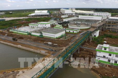 Giám sát chặt việc xử lý nước thải tại Công ty Giấy Lee&Man Việt Nam