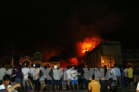 Vụ cháy tại Công ty Kwong Lung – Meko: Hỏa hoạn bất ngờ bùng phát trở lại