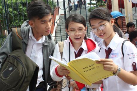 Thi THPTQG 2017: Học sinh chọn bài thi Khoa học xã hội có xu hướng tăng