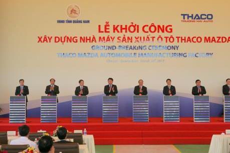 Định vị nhà máy Thaco-Mazda hiện đại nhất khu vực ASEAN