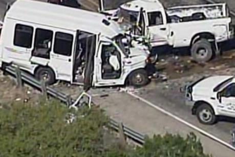 Tai nạn giao thông thảm khốc tại Mỹ