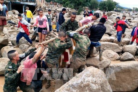 Vụ lở đất tại Colombia: 200 người đã thiệt mạng