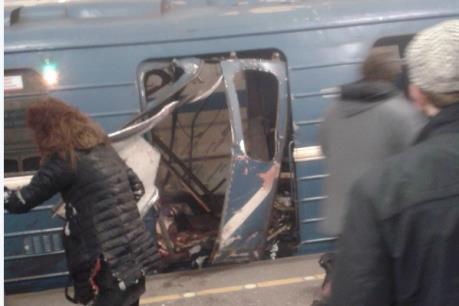 Nga: Nổ tại tàu điện ngầm St Peterburg làm 60 người thương vong