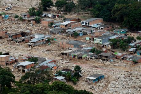 Vụ lở đất tại Colombia: Số người chết tăng lên 286 người