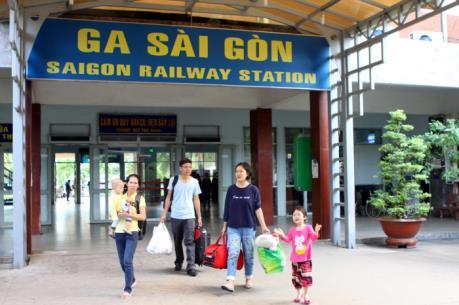 Ga Sài Gòn dành 300.000 chỗ bán vé tàu Tết Mậu Tuất 2018