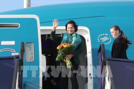 Chủ tịch Quốc hội Nguyễn Thị Kim Ngân bắt đầu thăm chính thức Hungary
