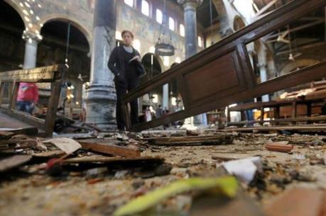 Ai Cập: Đánh bom nhằm vào cộng đồng người Cơ đốc giáo, hơn 50 người thương vong