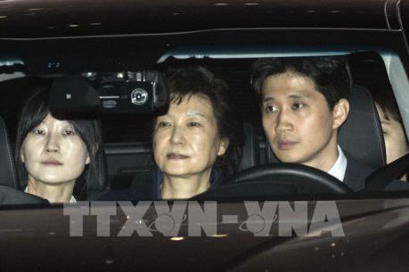 Phong tỏa tài sản của cựu Tổng thống Park Geun-hye