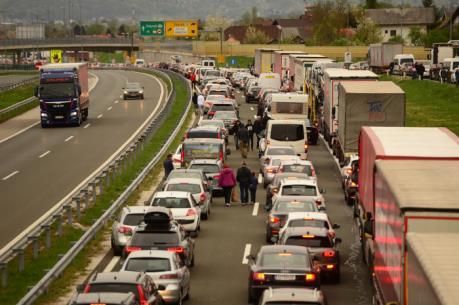 Vấn đề người di cư: Ùn tắc tại biên giới khu vực Schengen