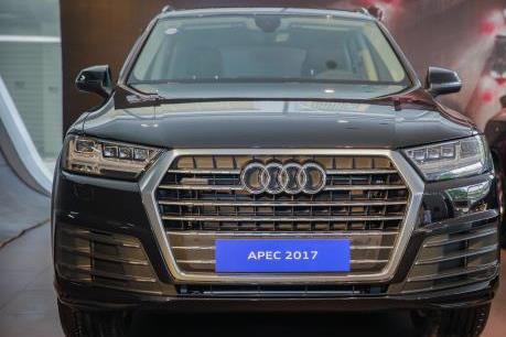 Xe Audi phục vụ sự kiện APEC 2017 được trang bị những gì?