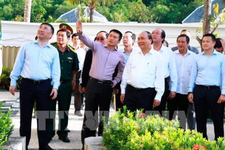 Thủ tướng Nguyễn Xuân Phúc làm việc với nhà đầu tư tại Phú Quốc, Kiên Giang