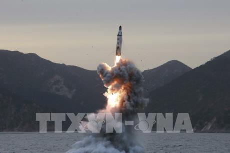 Triều Tiên phóng tên lửa ở khu vực gần thành phố Sinpo