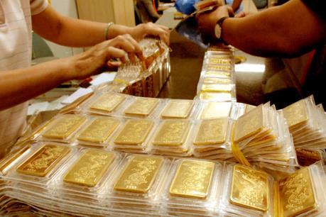 Giá vàng trong nước đang có những xoay chuyển tích cực