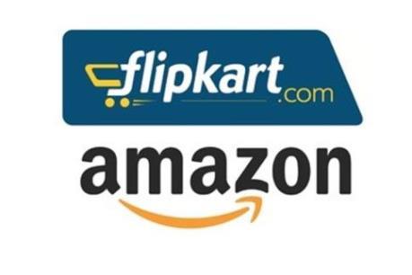 """Amazon và Flipkart """"làm nóng"""" thị trường thương mại điện tử Ấn Độ"""
