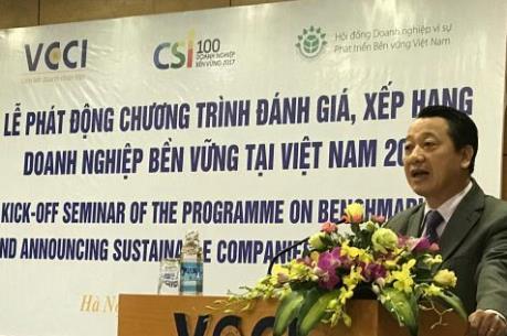 Phát động Chương trình đánh giá, công bố các doanh nghiệp bền vững tại Việt Nam