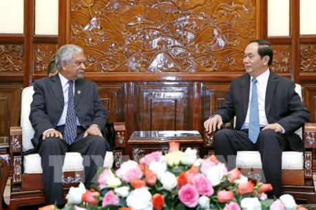 Chủ tịch nước Trần Đại Quang: Việt Nam luôn coi trọng quan hệ hợp tác của LHQ