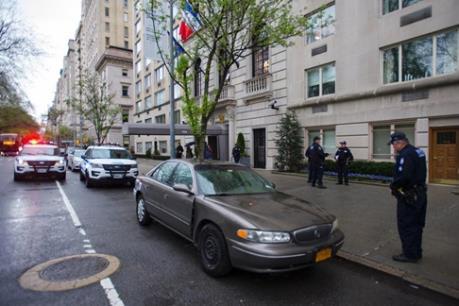 Lãnh sự quán Pháp tại New York sơ tán do đe dọa đánh bom