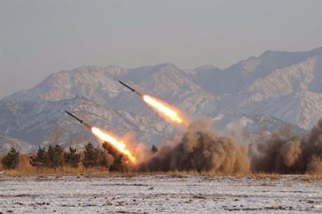 Triều Tiên bắn đạn thật quanh thành phố cảng Wonsan