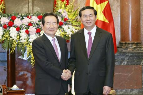 Chủ tịch nước: Quan hệ Việt Nam-Hàn Quốc phát triển mạnh mẽ và ngày càng đi vào chiều sâu