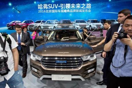 Trung Quốc đặt mục tiêu trở thành nước sản xuất ô tô hàng đầu thế giới