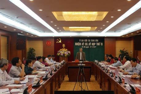 Ủy ban Kiểm tra Trung ương: Đề nghị kỷ luật nhiều cựu lãnh đạo PVN