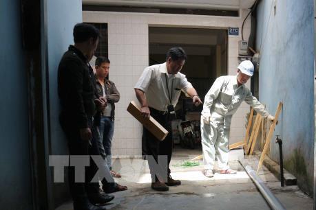 Vụ sụt lún đất tại trung tâm Đà Lạt: Phát hiện đường ống cấp nước bị rò rỉ