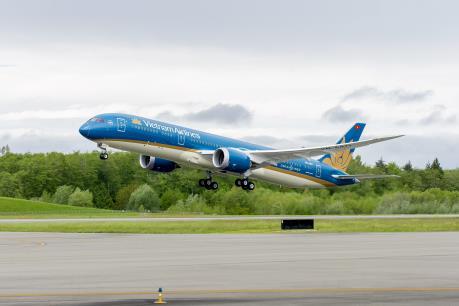 Vietnam Airlines đón nhận chiếc máy bay Boeing 787-9 Dreamliner thứ 11
