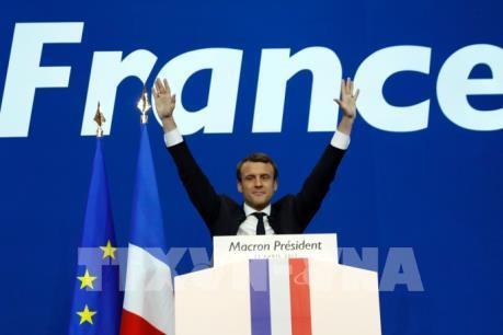 Tổng thống đắc cử Macron: Nhiều trách nhiệm nặng nề đang chờ ở phía trước