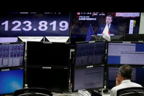 Chứng khoán Âu, Mỹ đồng loạt tăng điểm trong phiên 9/4