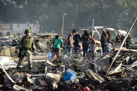 Nổ nhà chứa vật liệu làm pháo hoa, ít nhất 12 người thiệt mạng