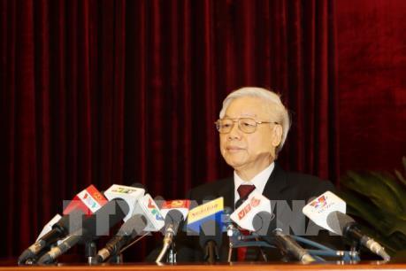 Thông cáo báo chí Phiên bế mạc Hội nghị lần thứ năm Ban Chấp hành Trung ương Đảng khóa XII