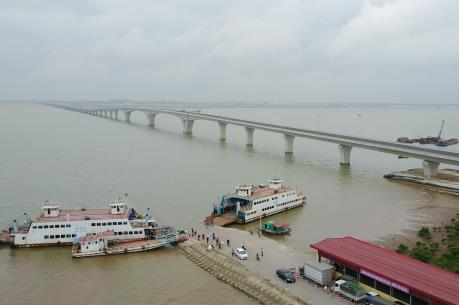Cầu vượt biển Tân Vũ - Lạch Huyện sắp đưa vào sử dụng