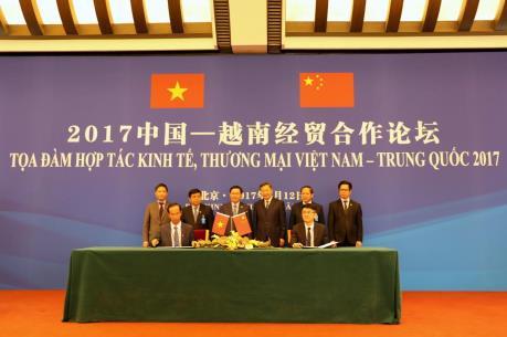 Vinamilk và đối tác Trung Quốc ký kết bản ghi nhớ duy nhất trong lĩnh vực sữa tại Bắc Kinh