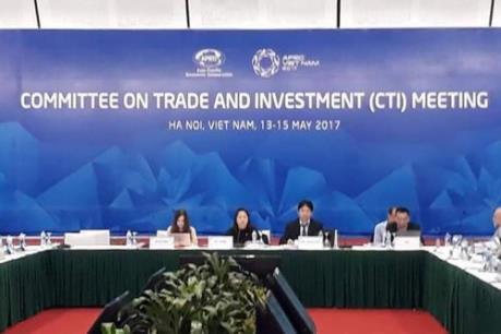 APEC 2017: CTI thảo luận về hội nhập kinh tế khu vực châu Á-Thái Bình Dương
