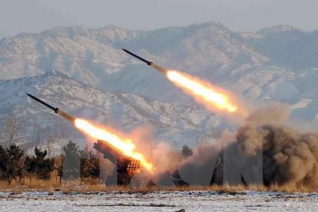 EU và Pháp lên án vụ phóng tên lửa mới của Triều Tiên