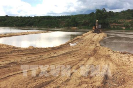 Có hay không việc khai thác cát quá mức trên sông Đà?