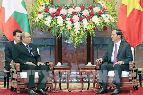 Chủ tịch nước: Việt Nam và Myanmar cần thúc đẩy hợp tác trên các lĩnh vực thế mạnh