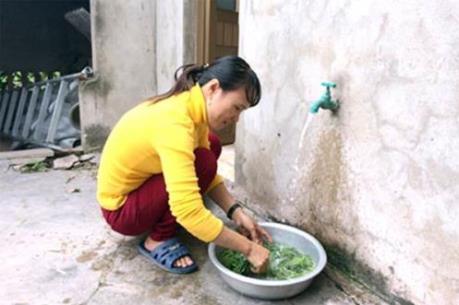 """Tín dụng chính sách """"khơi"""" dòng nước sạch về nông thôn"""