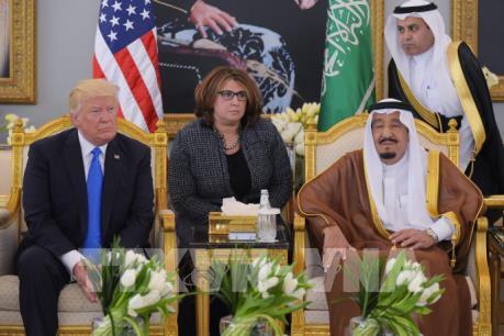 Mỹ, Saudi Arabia cam kết thỏa thuận vũ khí gần 110 tỷ USD