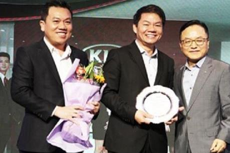 Thaco tiếp tục là nhà phân phối thương hiệu xe Kia xuất sắc nhất châu Á năm 2016