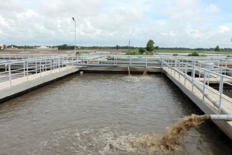 Sắp có nhà máy xử lý nước thải tại Khu Công nghiệp Đồng Văn IV