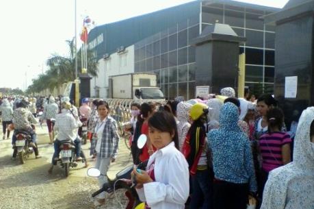 Gần 2.000 công nhân Công ty TNHH Ivory Việt Nam đã trở lại làm việc