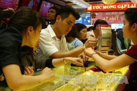 Thị trường vàng trong nước giao dịch trầm lắng