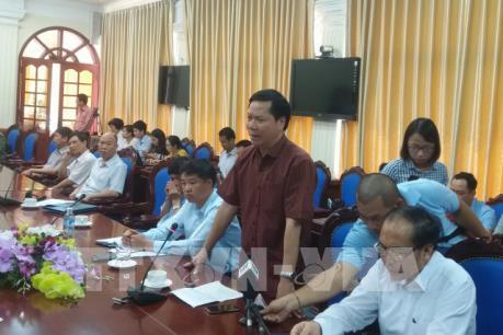 Hòa Bình họp khẩn giải quyết sự cố 7 người tử vong khi chạy thận