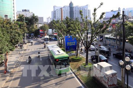 Hà Nội thay đổi lộ trình một số tuyến xe buýt từ 1/6