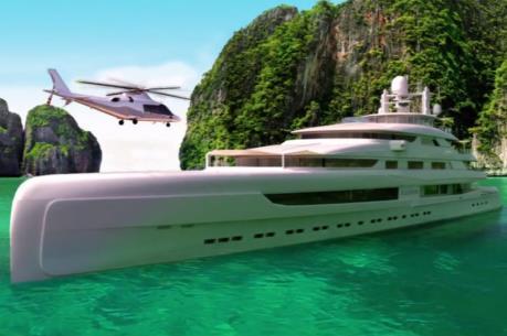 Trung Quốc hiện thực hóa dự án siêu du thuyền hạng sang